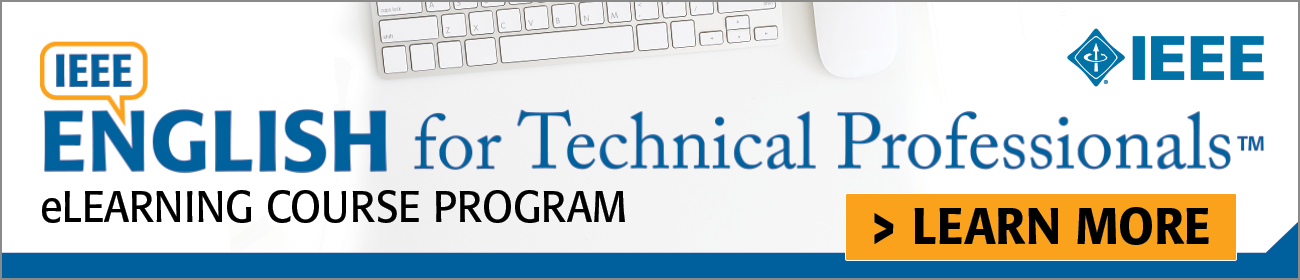 English for Technical Professionals.